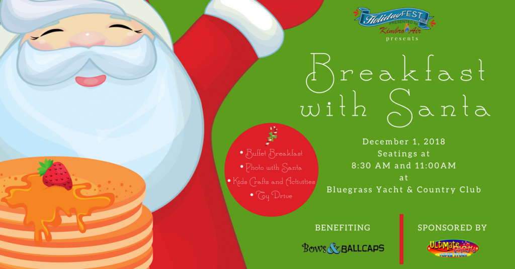 438e6689a7f6 Breakfast with Santa Benefiting Bows and Ball Caps – HolidayFest ...