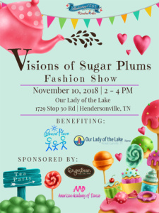 Visions of Sugar Plums Fashion Show