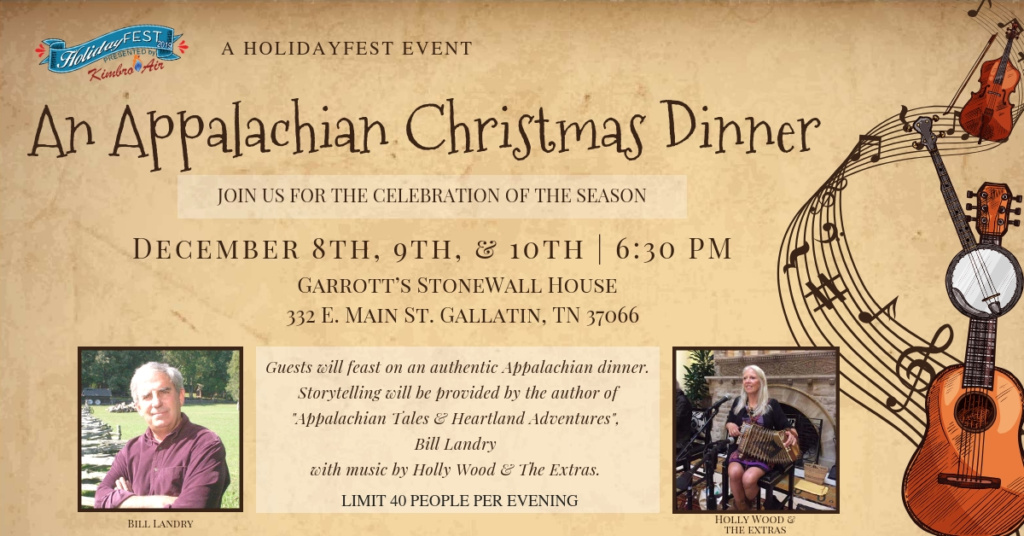 Appalachian Christmas Dinner 2019