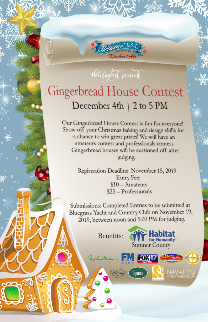 Gingerbread House Contest HolidayFest TN